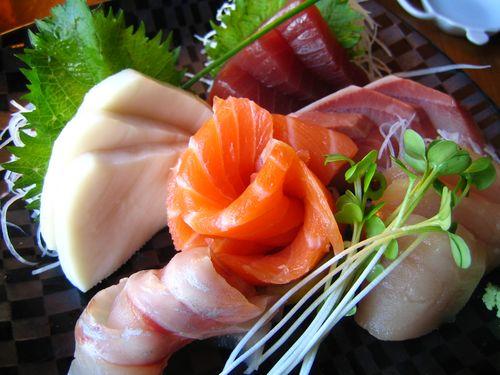 sashimi compilation さしみ盛り合わせ