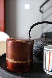 桜細工 茶筒